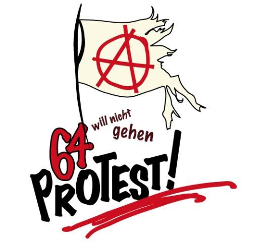 der 64 protest