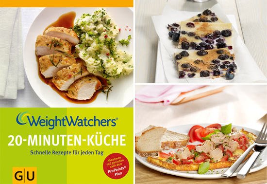 GU/ Weight Watchers 20-Minuten-Küche/ Dirk Albrecht, The Food Professionals